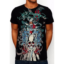 Camisetas Ed Hardy By Christian Audigier - Produto Importado