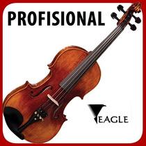 Violino Eagle Vk 544 Profissional Corpo Maciço Frete Gratis