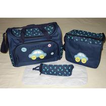 Kit De Bolsa Maternidade/bebe/nenem 4 Pçs Pronta-entrega!
