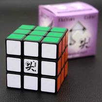 Cubo Mágico Profissional Dayan Zanchi 3x3x3 - Preto Original