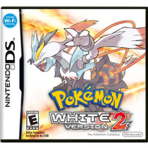 Jogo Novo Lacrado Pokémon White Version 2 Nintendo Ds