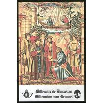 Bélgica 1979 1000 Anos Bruxelas Bloco Raro Bl48 (0104)