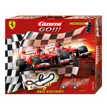 Autorama Pista Elétrica Ferrari Carrera - Red Victory - 1:43