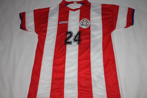 Camisa Futebol Seleção Paraguai - Leia Todo O Anuncio. R  50 51cad8a432539