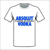 Camiseta Personalizada - Absolut