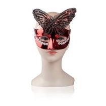 Máscara De Veneza Butterfly Vermelha