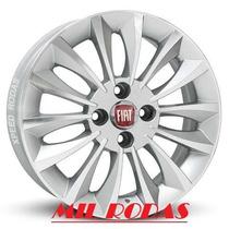 Roda Aro 17 Fiat Linea Absolute - Prata Diamantada - 4x98
