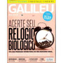 Galileu - Agosto De 2012 Acerte Seu Rel�gio Biol�gico