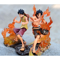 Boneco One Piece Dx Figure Brotherhood Ace & Luffy