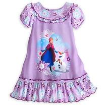 Camisola Frozen Oficial Disney Store Tam 7/8 Anos Importada