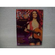 Dvd Original Paula Fernandes- Ao Vivo