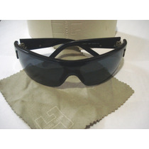 Oculos Sol Grife Fause Haten F 9017 Original Lente Fume Azul