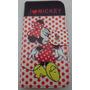 Capa Case Carteira Para Celular Moto G 2ª Geração Da Mickey