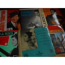 Música Flamenca E Espanhola Lote 33 Compactos Ep Vinil Raro