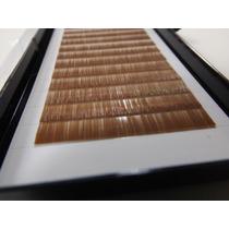 Fios P/ Mega Hair/extensão De Sobrancelhas - Castanho Médio