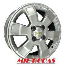Roda Aro 15 Gm Chevrolet Montana Sport Prata - 4x100 - R15