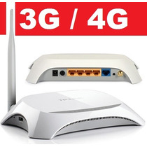 Roteador 3g Wireless 150 Mbps 5dbi Tp-link Tl-mr3220 Tp Wifi