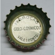 Tampinhas Antigas - Coca-cola Promo Gelo-cosmicos