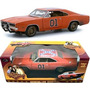 Miniatura General Lee Sujo Ertl 1/18 Dukes Of Hazzard Gatões