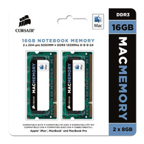 Memória Corsair Ddr3 16gb (2x8gb) 1333mhz Notebook Mac Apple