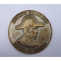 Medalha Metal Prateado Exército Brasileiro Duque De Caxias