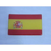 Adesivo Resinado Bandeira Espanha