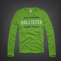 Hollister Camiseta Camisa Blusa Masculina - Importada Eua
