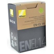 Bateria En-el14 Original Nikon D3200 D3300 D5200 En El 14