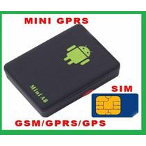 Mini Escuta Espião Localizadora Gps E Botão Sos Rastreador