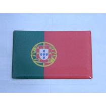 Adesivo Resinado Bandeira Portugal