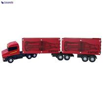 Caminhão Carreta Bitrem Caçamba Baú Plastico/madeira