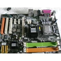 Placa Mae Msi - 945 P Pentium 4 3.2 Ghz