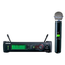Microfone Shure Sem Fio Slx24 Beta 58