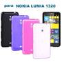 Frete Grátis Capa Tpu Nokia Lumia 1320 + Película Protetora