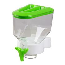 Dispenser Porta Alimentos Cozinha Suporte De Parede Verde