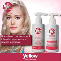 Kit Silver Color Da Yellow Shampoo+máscara Condicionadora