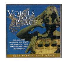 Cd Duplo - Voices For Peace / Frete Gratis