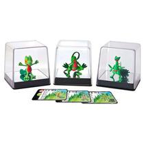 Coleção Pokemon Xy -3 Bonecos Treecko Grovyle Screptile Tomy