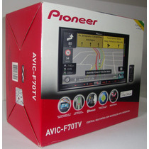 Dvd Pioneer Avic-f70tv Gps Bluetooth Tv Digital Applecarplay