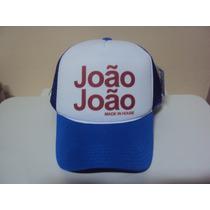 Boné Joao Joao Personalizados Sátira Jaum Jaum Frete Grátis