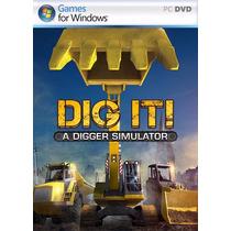 Simulador Escavadeiras - Digger Simulator 2014 Em Português