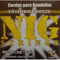 Cordas Nig Para Bandolim Npb540 - .010 - .034