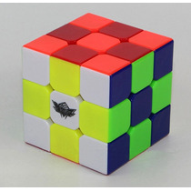 Cubo Mágico 3x3x3 Cyclone Boys - Peças Coloridas