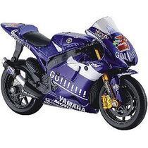 Miniatura Moto Gp Yamaha Gauloises Maisto 1:18