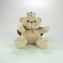 Urso De Pelúcia Principe Mini Azul