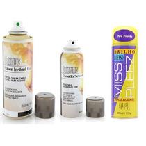 Kit Instant Hair - Maquiagem + Selante + Brilho Intenso