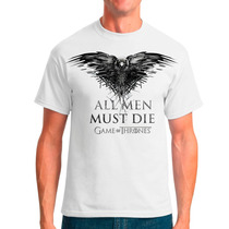 Camisa E Baby Look Game Of Thrones - All Men Must Die