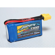 Bateria Lipo Zippy - 1300ma - 2s - 7.4v - 20c