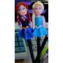 Lápis Ponteira Em Biscuit Anna E Elsa Princesas Frozen Lembr