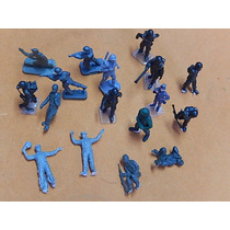 Escala Ho Importado Kit 17 Figuras Militares Para Maquete